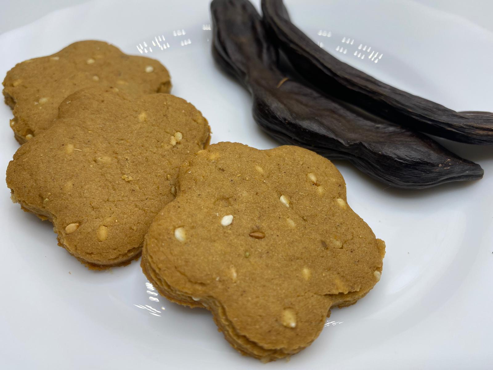 Thumbnail for Biscuits à la mélasse de caroube – بسكوت بدبس